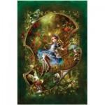 Puzzle  Master-Pieces-71143 Alice im Wunderland