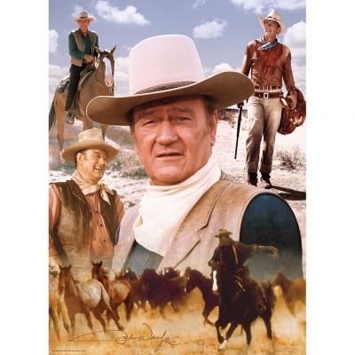Puzzle  Master-Pieces-71238 John Wayne - America's Cowboy