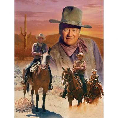 Puzzle Master-Pieces-71239 John Wayne - The Cowboy Way