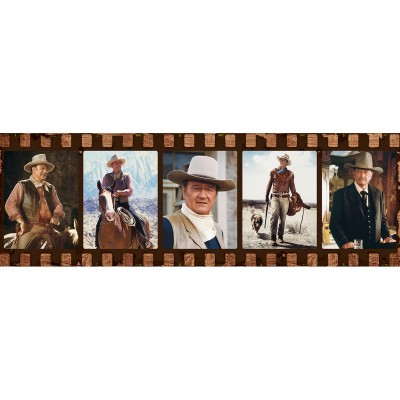 Puzzle  Master-Pieces-71446 John Wayne - Forever in Film