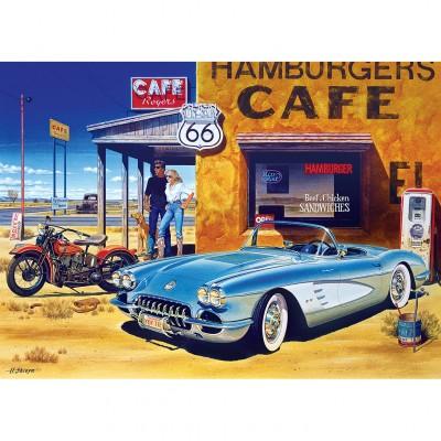 Puzzle Master-Pieces-71517 Route 66 Café