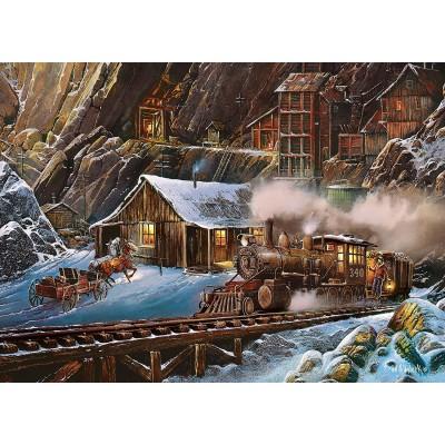 Puzzle  Master-Pieces-71655 Railways - When Gold Ran The Rails