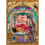 Puzzle  Master-Pieces-71659 Book Box - Sleeping Beauty