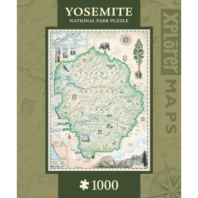 Puzzle  Master-Pieces-71701 Xplorer Maps - Bryce Canyon