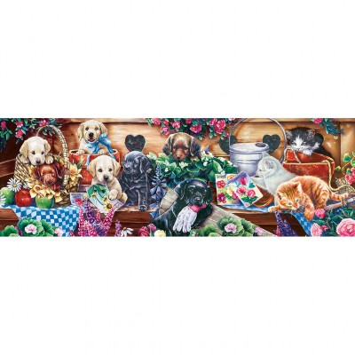 Puzzle  Master-Pieces-71727 Flower Box Playground