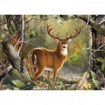Puzzle  Master-Pieces-71751 Backcountry Buck