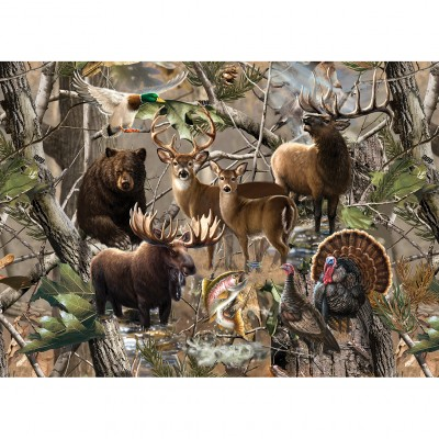Puzzle  Master-Pieces-71753 Open Season