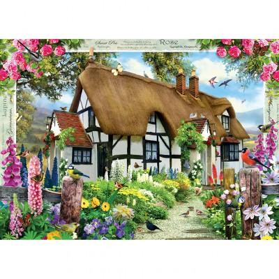 Puzzle  Master-Pieces-71757 Rose Cottage