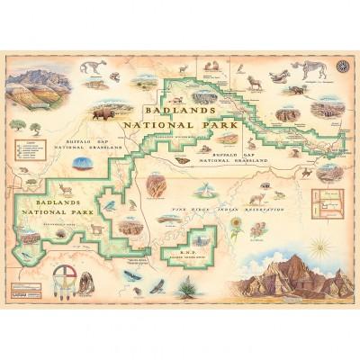 Puzzle  Master-Pieces-71764 Badlands Map