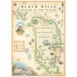 Puzzle  Master-Pieces-71798 Black Hills Map