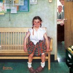 Puzzle  Master-Pieces-71806 Norman Rockwell - The Shiner