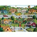 Puzzle  Master-Pieces-71824 Bungalowville