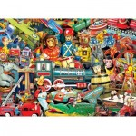 Puzzle  Master-Pieces-71832 Toyland