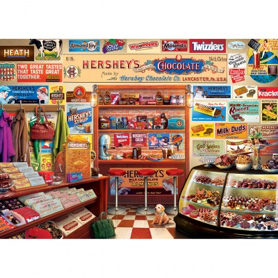 Puzzle  Master-Pieces-71913 Hershey's Candy Shop