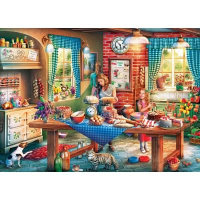Puzzle  Master-Pieces-71943 Baking Bread