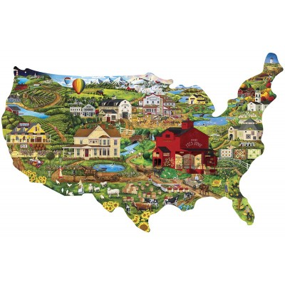 Puzzle  Master-Pieces-71959 United States