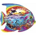 Puzzle  Master-Pieces-71960 Tropical Fish