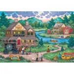 Puzzle  Master-Pieces-71968 Adirondack Anglers