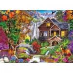Puzzle  Master-Pieces-71985 Hidden Falls Retreat