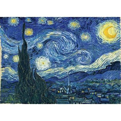 Puzzle  Master-Pieces-72012 Vincent Van Gogh - Starry Night