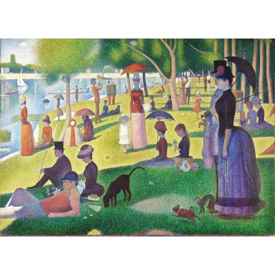 Puzzle  Master-Pieces-72013 A Sunday on La Grande Jatte