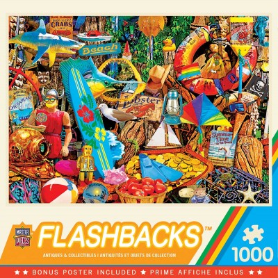 Puzzle  Master-Pieces-72038 Beach Time Flea Market