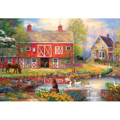 Puzzle  Master-Pieces-72047 Reflections on Country Living
