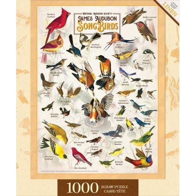 Puzzle  Master-Pieces-72049 Songbirds