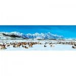 Puzzle  Master-Pieces-72064 Elk Refuge