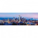 Puzzle  Master-Pieces-72071 City Panoramics - Seattle