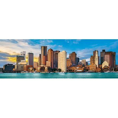 Puzzle  Master-Pieces-72072 City Panoramics - Boston