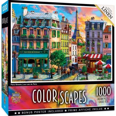 Puzzle  Master-Pieces-72119 Paris Streets