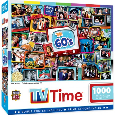 Puzzle  Master-Pieces-72155 60's Shows