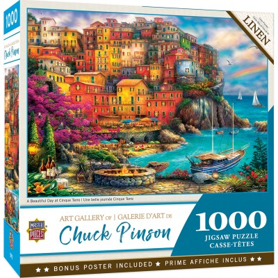 Puzzle  Master-Pieces-72162 A Beautiful Day at Cinque Terre
