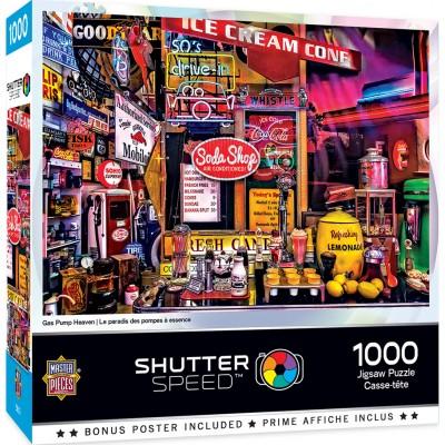 Puzzle  Master-Pieces-72179 Gaz Pump Heaven