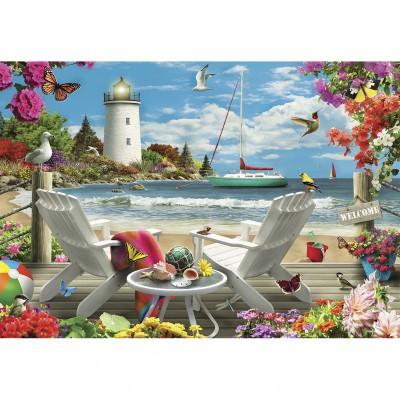 Puzzle Master-Pieces-81401 Coastal Escape