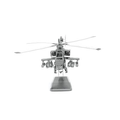 Metal-Earth-MMS083 3D Puzzle aus Metall - Apache AH-64
