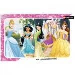 Nathan-86009 Rahmenpuzzle - Disney Princess