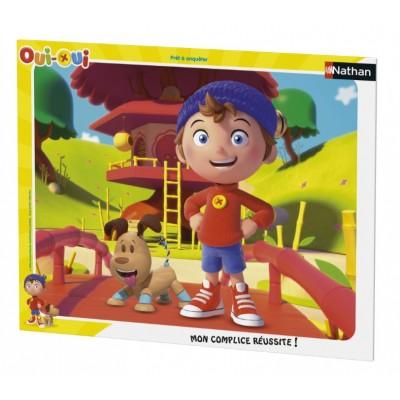 Nathan-86064 Rahmenpuzzle - Oui-Oui