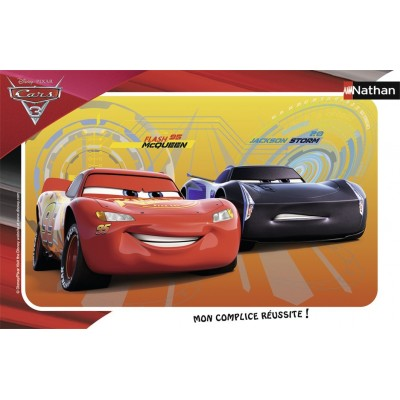 Nathan-86065 Rahmenpuzzle - Cars 3