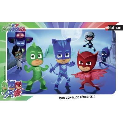 Nathan-86067 Rahmenpuzzle - PJ Masks