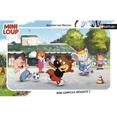 Nathan-86128 Rahmenpuzzle - Mini-Loup