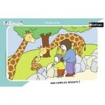 Nathan-86131 Rahmenpuzzle - Tchoupi