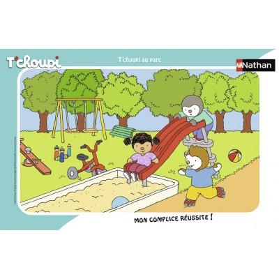 Nathan-86132 Rahmenpuzzle - Tchoupi
