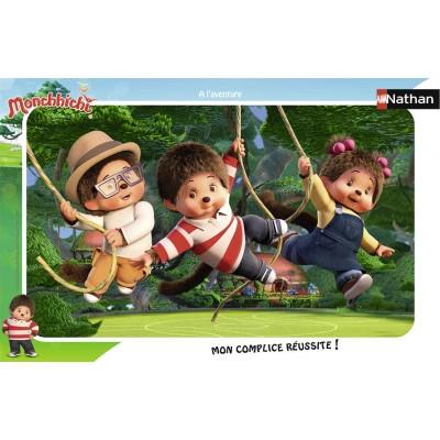 Nathan-86137 Rahmenpuzzle - Monchhichi