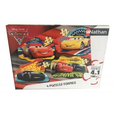 Nathan-86204 4 Puzzles - Cars 3