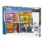 Nathan-86206 4 Puzzles - Paw Patrol