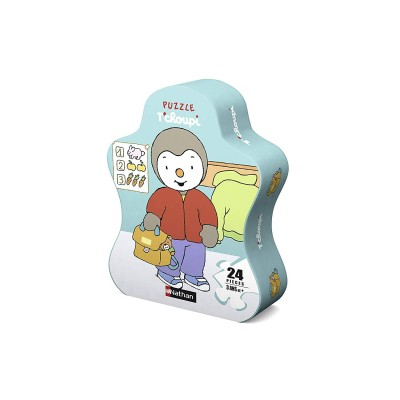 Puzzle  Nathan-86209 Tchoupi