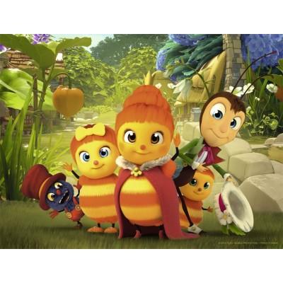 Puzzle  Nathan-86359 Les Drôles de Petites Bêtes