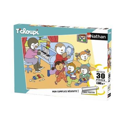 Puzzle  Nathan-86368 Tchoupi